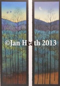 jan-heath_mountain-woodlands-diptych