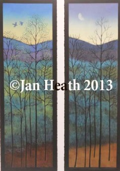 jan-heath_mountain-woodlands-diptych