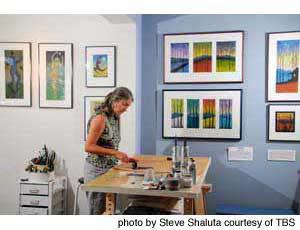Jan Heath printing