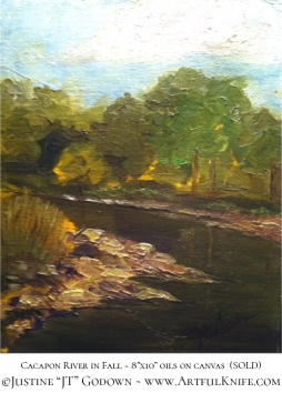 justine-godown_cacapon-river-fall